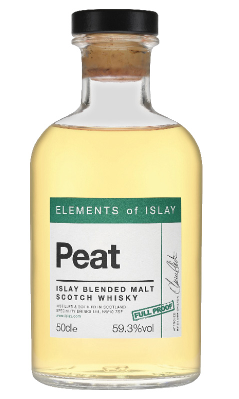 Elements of Islay Peat Full Proof Cask-Strength Blended Malt